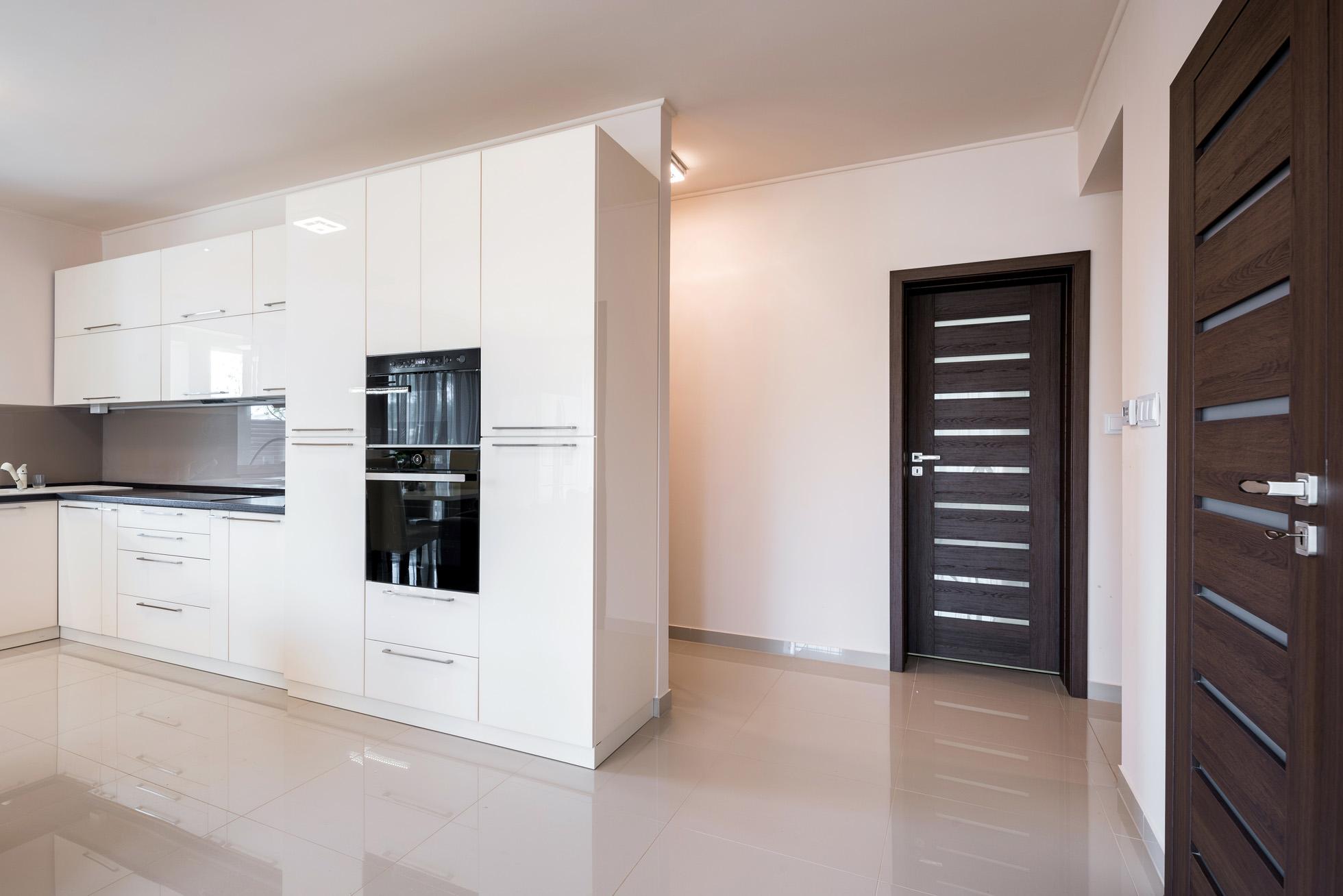 kényelmes otthon, konyha, enteriőr