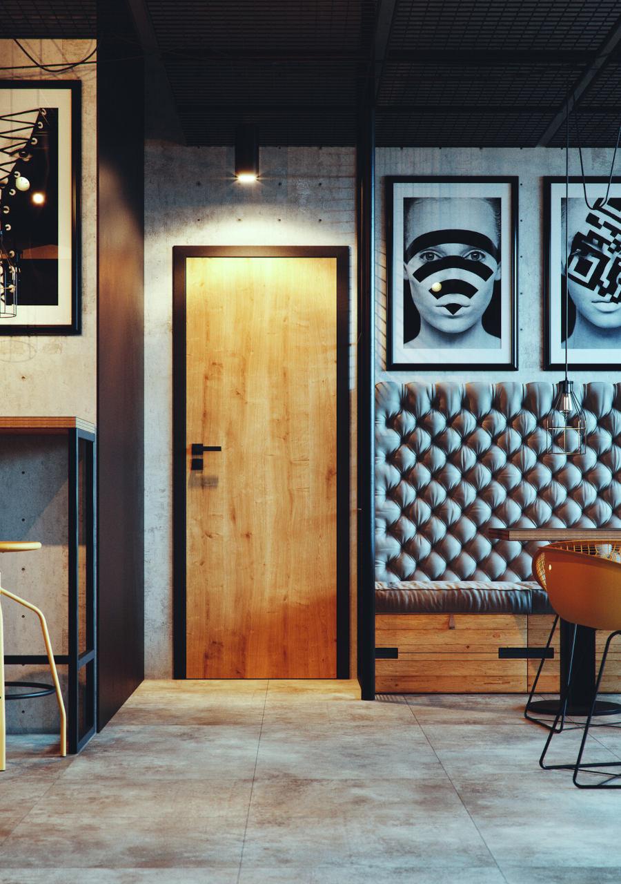 porta decor, beltéri ajtó