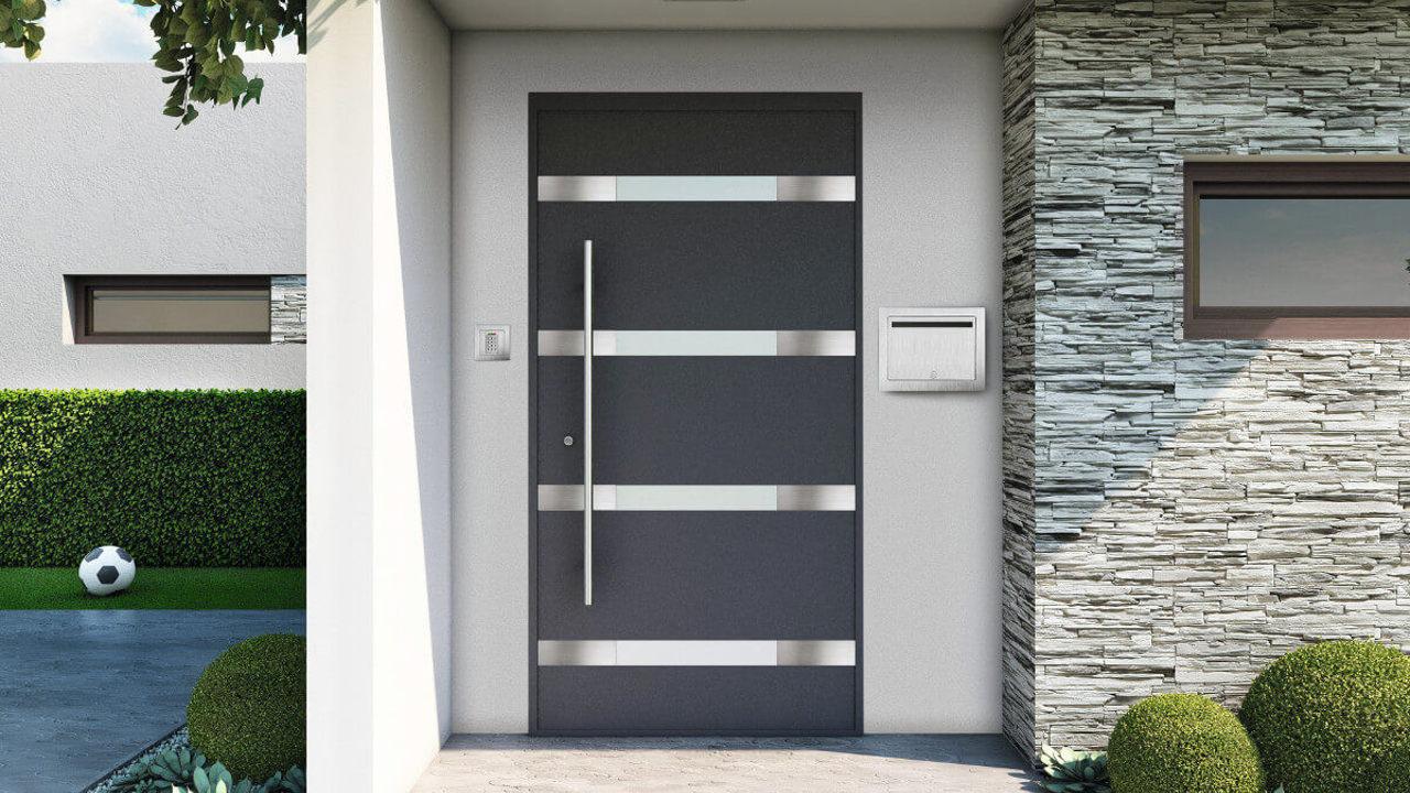 alumínium bejárati ajtó, beltéri ajtó