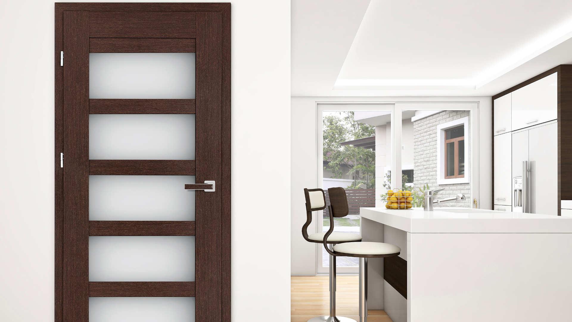 Azalia ajtó, Modern beltéri ajtók