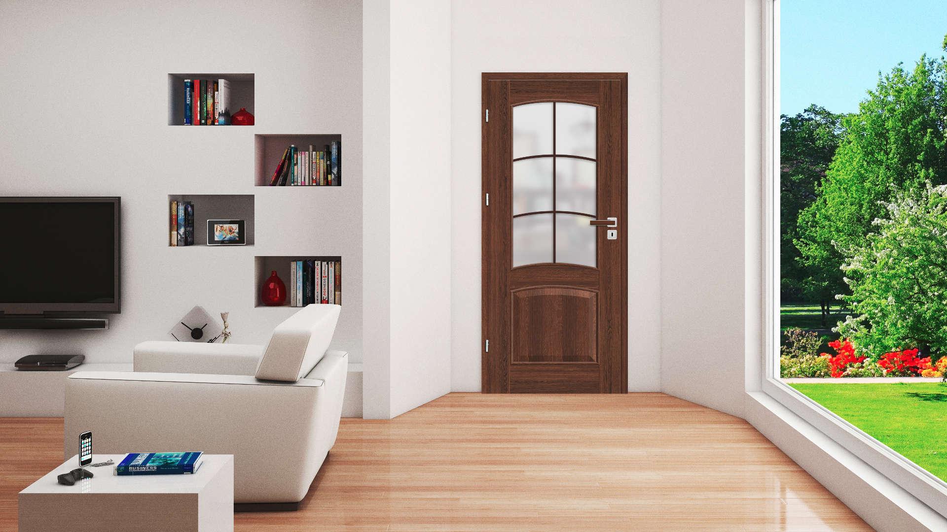 Dalia ajtó, Modern beltéri ajtók