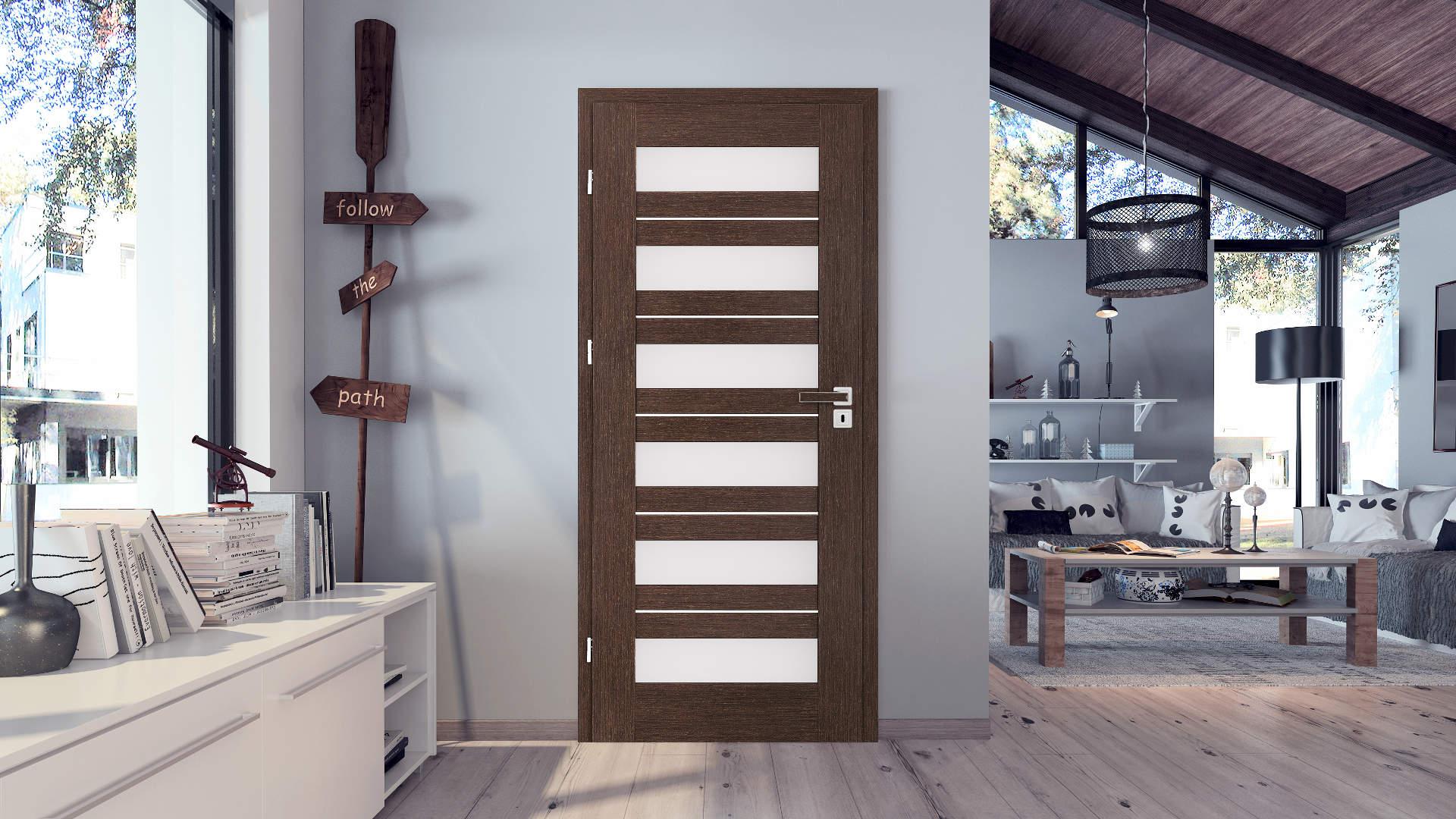 Floks ajtó, Modern beltéri ajtók
