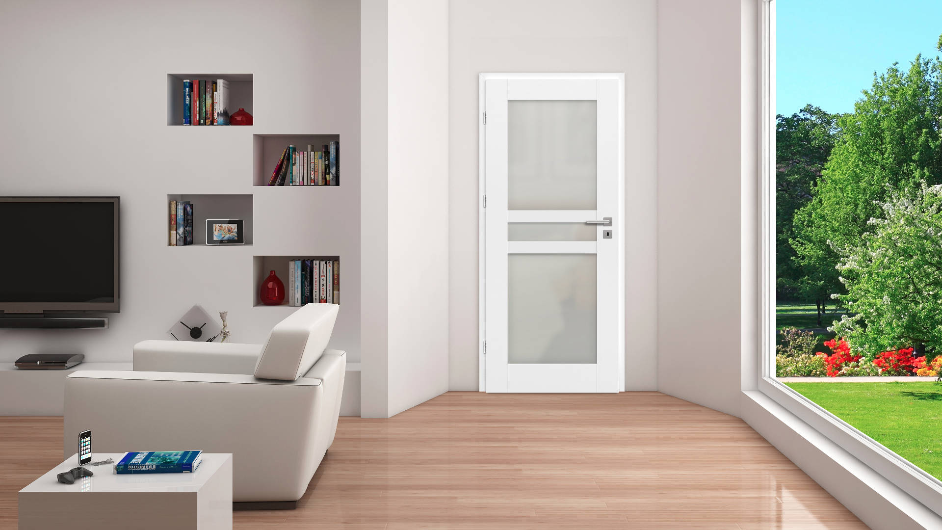 Forsycja ajtó, Modern beltéri ajtók