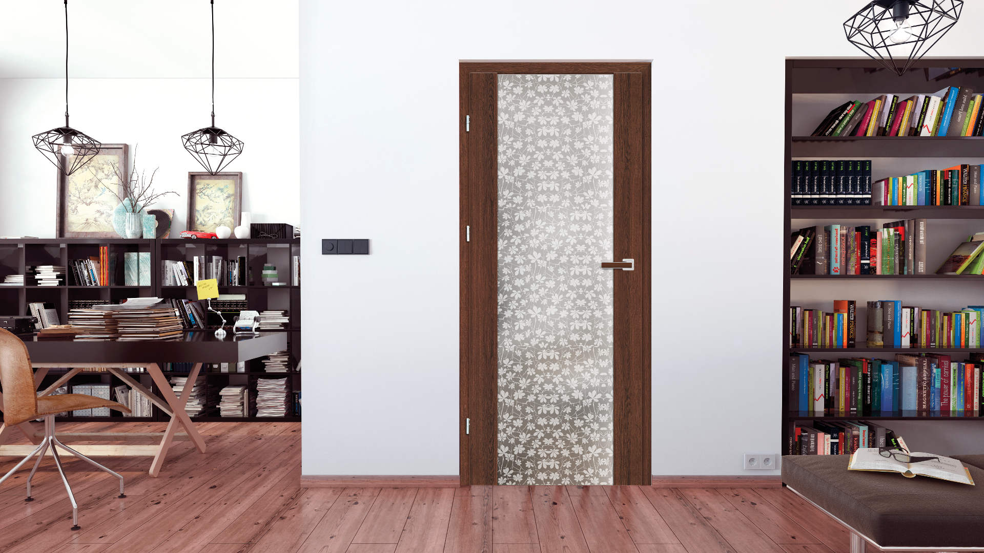 Fragi ajtó, Modern beltéri ajtók