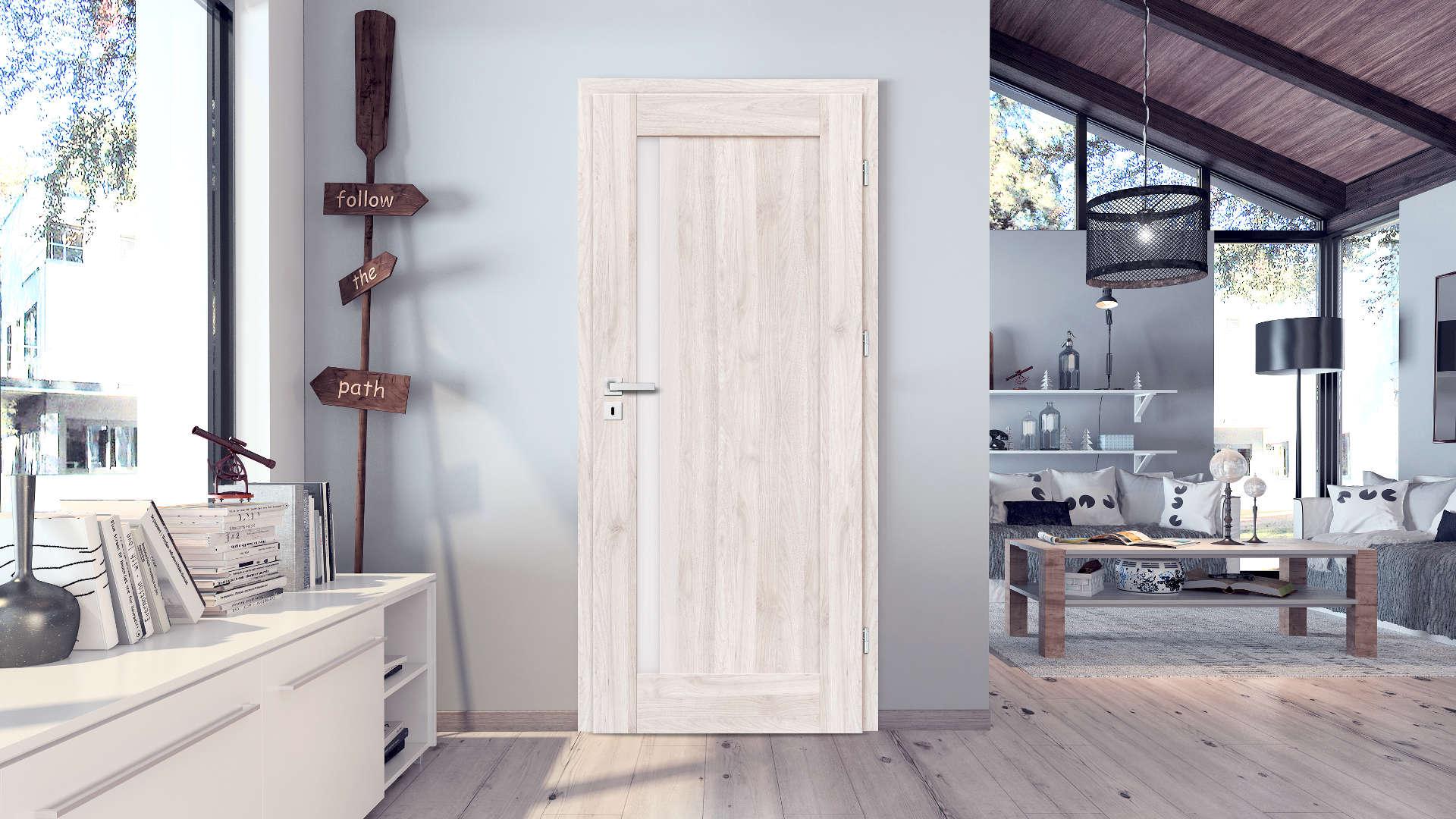 Frezja ajtó, Modern beltéri ajtók