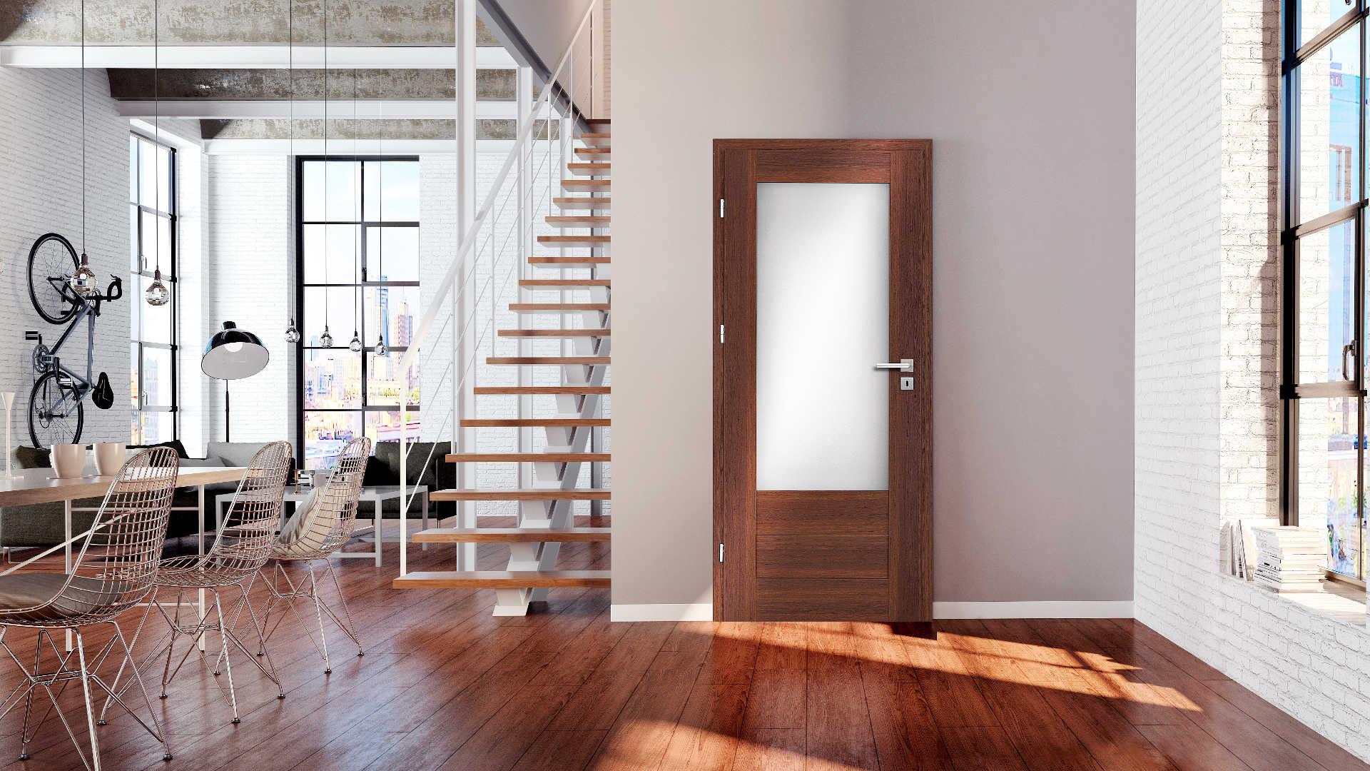 Hiacynt ajtó, Modern beltéri ajtók