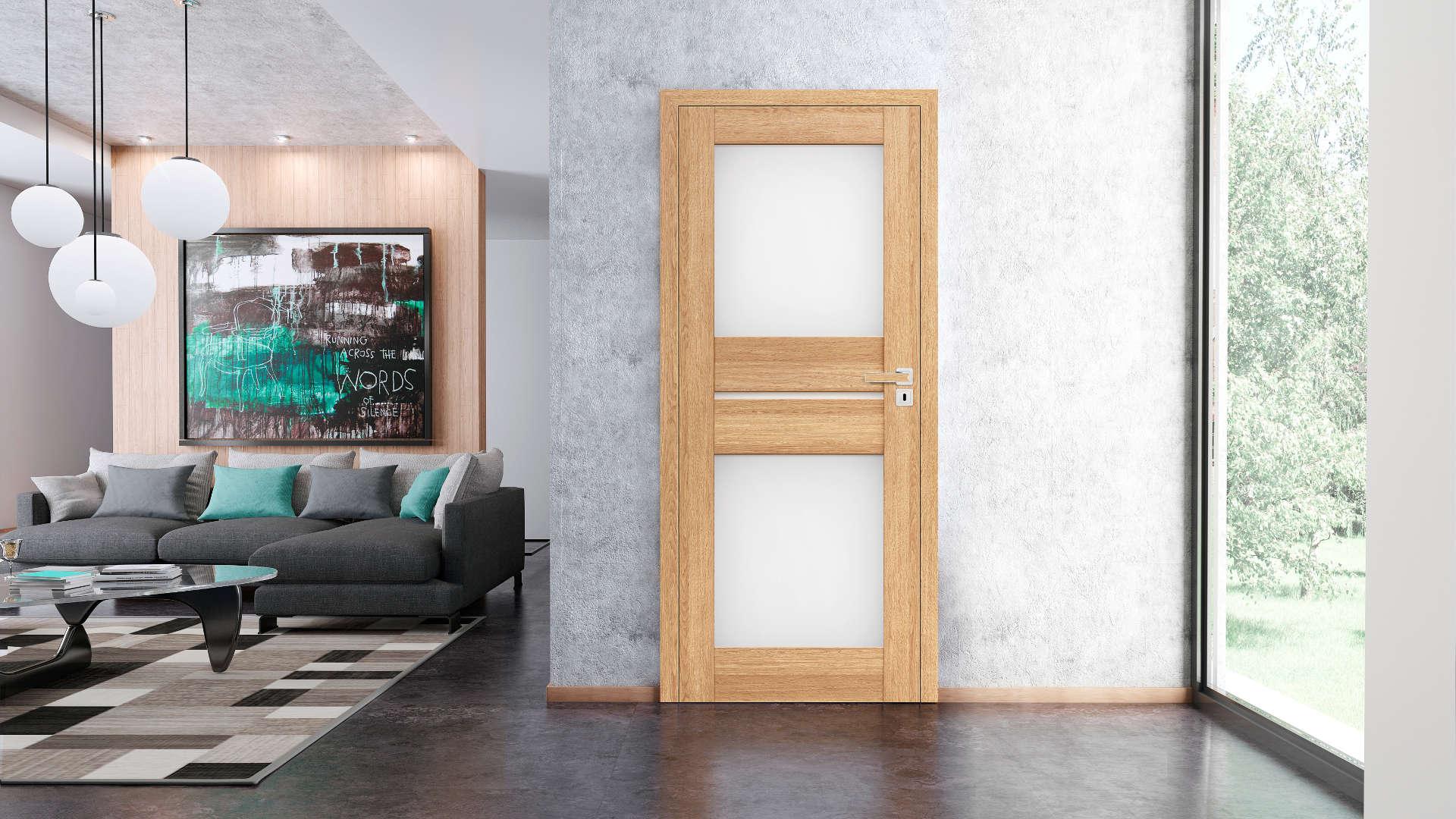 Lawenda ajtó, Modern beltéri ajtók