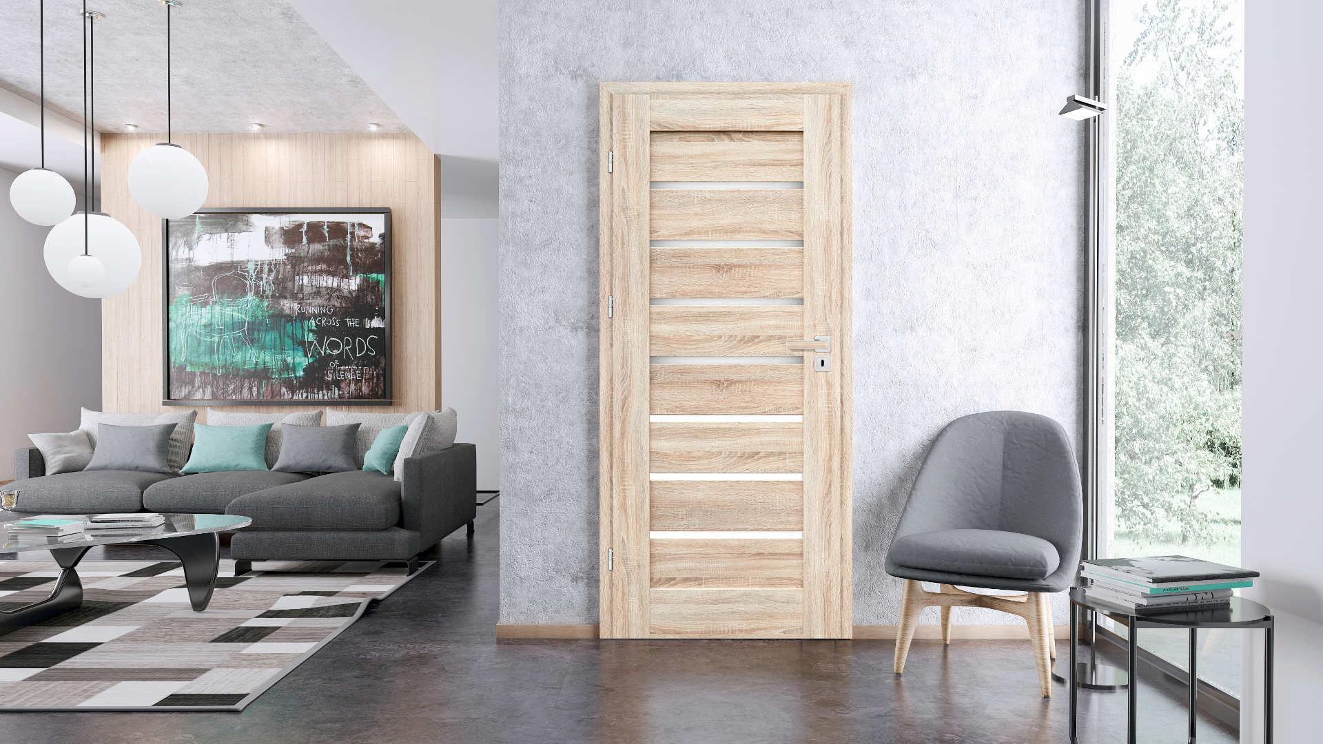 Malwa ajtó, Modern beltéri ajtók