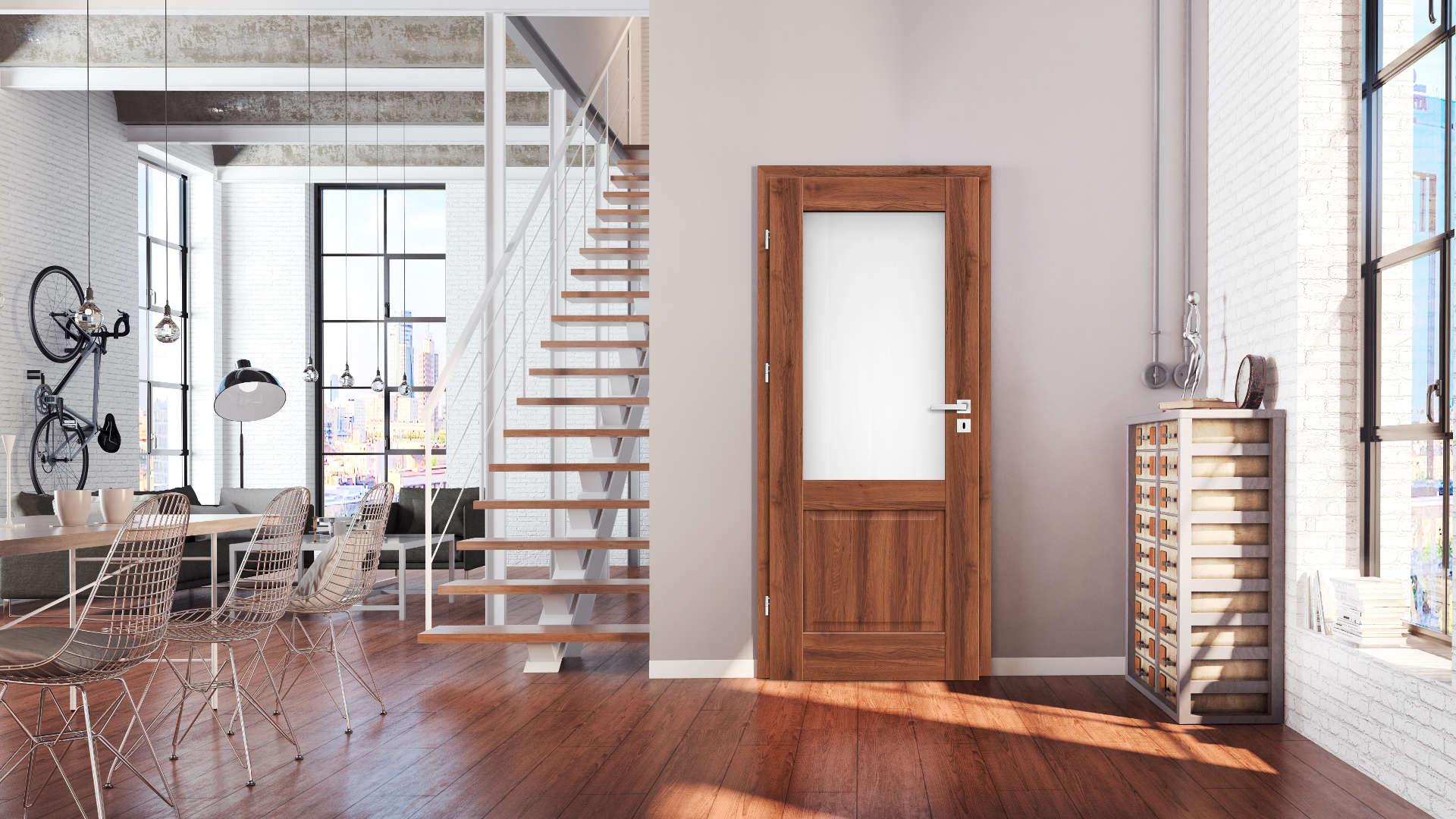 Nemezja ajtó, Modern beltéri ajtók