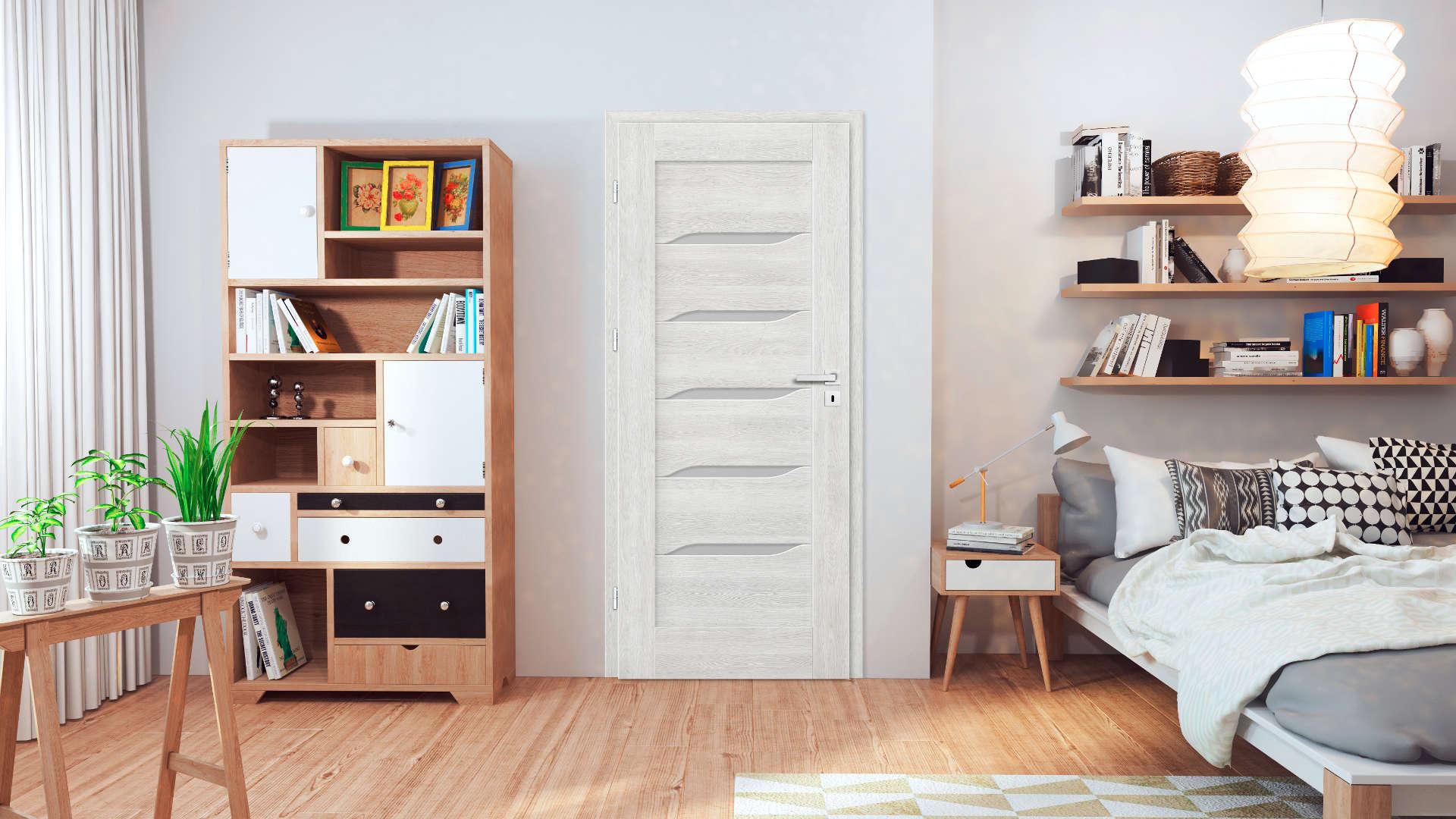 Nolina ajtó, Modern beltéri ajtók